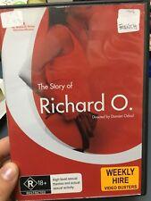 The Story of Richard O ex-rental region 4 DVD (2007 French drama movie) rare