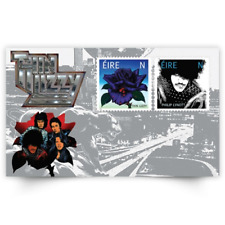 GENUINE Thin Lizzy Miniature Sheet - 50th Anniversary Phil Lynott Stamps AnPost