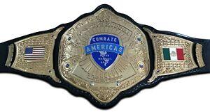 Combat America MMA Championship Wrestling Belt 2mm plates Adult Size