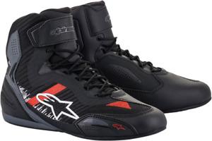Alpinestars Faster 3 Rideknit Riding Shoes US 8 Black/Gray/Red 251031911658
