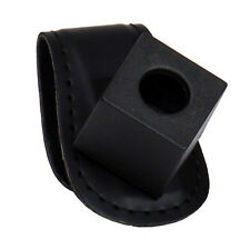 Leather Magnetic Chalk Holder with Belt Clip  - Black - Chalk Holder - FREE SHIP