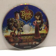 Book of Life Animated Movie DVD Disc Only