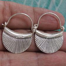 Earrings Silver Karen Hill tribe