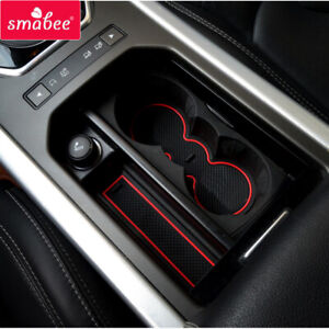 Car Gate Slot Mat for Land Rover Range Rover Evoque 2012 ~ 2018 Cup Holders Mat