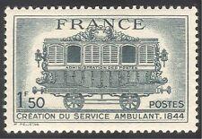 France 1944 Mobile Post Office Van/Mail/Train/Rail/Railway/Transport 1v (n24002)