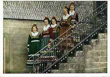 AK Hessische Trachten Hessen Hessenmädchen A_219