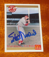"Stan ""The Man"" Musial Signed Cardinals 100th Anniversary Card w/Musial Holo"