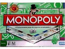 Monopoly Original De Hasbro Con Piezas De Metal En Español NUEVO SELLADO