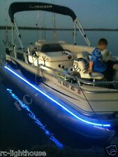 RV LED Camper Awning Boat Light Set w/IR Remote 24 key  RGB 10' 3528 Waterproof