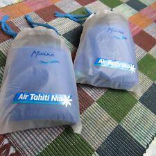 Air Tahiti Nui Economy Moana Class Welcome Amenity Kit  Eye mask Ear Phone Socks