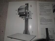 Durst Laborator 1000 9x12cm SW-Vergrösserer mit Beleuchtungseinrichtung Relux