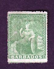 Barbados Scott Number 5 Mint Hinged Stamp