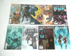HIGHER EARTH 1 2 3 4 5 6 7 8 9 BOOM! STUDIOS Comic Books FULL RUN! EXCELLENT!