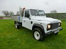 LAND ROVER DEFENDER 130 TDCi PUMA CHASSIS CAB-TIPPER/DROP SIDE CHERRY PICKER