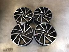 "18"" VW Spielberg Style Wheels Gloss Black Machined Golf MK6 MK7 MK7.5 Audi A3"