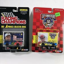 Lot of 2 NASCAR Ted Musgrave #16 Diecast car Racing Champions 50th Anniversary
