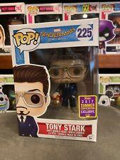 Pop Movies Tony Stark With Helmet SDCC 225 Funko Pop Vinyl EXPERT PACKAGING