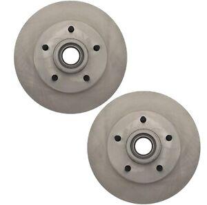 Pair Set of 2 Front C-Tek Brake Disc Rotors For