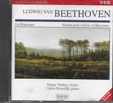 "CD album: Beethoven: Le Printemps. Sonate pour Violon ""A Kreutzer"". DDD. W"