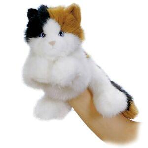 Aurora Calico Cat Hand Puppet