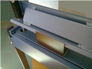 Sheet metal folder 630mm / 1mm H-45 bender, bending machine, make box, UK selle