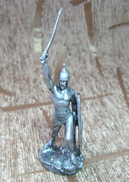54 mm Collection Tin Miniature Model Figure Toy soldier The Celtic warrior new