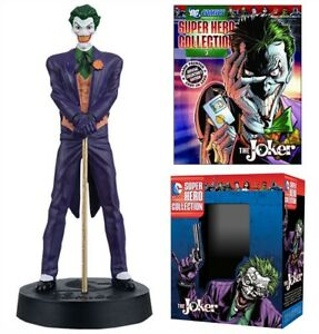 DC Superhero Collection #4 Joker Figure w/Booklet (Eaglemoss) New!