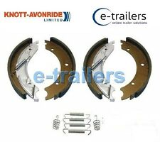 GENUINE KNOTT 203x40 TRAILER BRAKE SHOE AXLE SET-FOR IFOR WILLIAMS BRIAN JAMES