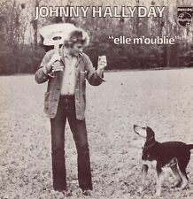 """45 T SP   JOHNNY HALLYDAY """"ELLE M'OUBLIE"""""""