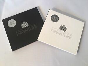 Ministry Of Sound Nightlife CD Set of 2 CDs Black & White Version CD Bundle