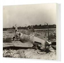 """10633224 20""""x16"""" (51x41cm) Canvas Print Messerschmitt Bf109E-4 of..."""