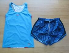 Nike Two Athletic Workout Clothing Top & Shorts Women's Size Medium