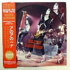 KISS Blitz London PICTURE Disc LP 2012 Numbered   Ks 21