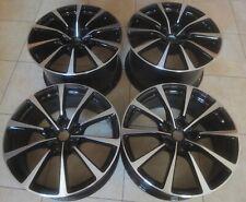 "XEX Set 20"" GENUINE Aston Martin Vanquish DB11 Rapide alloy wheels Black d/c"