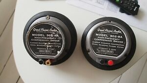 GPA great planes audio Altec Lansing 902-8a compression drivers good condition