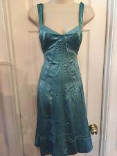 Marc Jacobs NEW $358 Dress -100% Silk  -Spring Spearmint Green -Women's Size 8