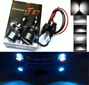 LED Kit G8 100W D1S 8000K Icy Blue Headlight Two Bulb Retrofit Bi-Xenon Low Beam