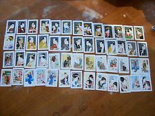 Japanese Art Print Swap Cards Full Deck 52 Different Images