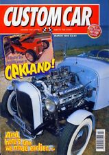CUSTOM CAR MARCH 1998-WILLYS-MODEL B CHASSIS BUILD-HOT ROD V8 CAR MAG