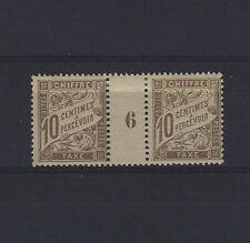 FRANCE Taxe n° 29 neuf avec charnière - Paire millésime 6