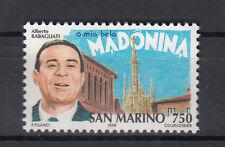 1996 SAN MARINO L. 750 STORIA DELLA CANZONE RABAGLIATI O MIA BELA  MADONINA