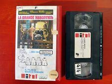VHS.09) LA GRANDE ABBUFFATA - MITEL HOME VIDEO (TOGNAZZI, MASTROIANNI, NOIRET)