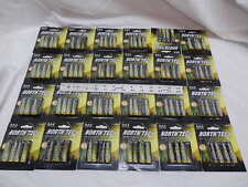 20 AA North Tech Solar Landscape Rechargeable Ni-mh Batteries 600mah 5 X 4ct