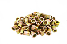 Alloy Steel Rivet Nuts Hollow Fastener Zinc Plated Accessories 100-Pieces Set