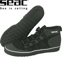 SEAC - DRY SUIT Boots, Rock Boots, Scuba DIVE neoprene Lace up - Sizes 8 to 14 *