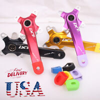 US 104bcd 170mm MTB Bike Crankset Crank Cover For 7/8/9/10/11/12s Chainring