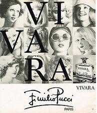 PUBLICITE ADVERTISING 025  1976  EMILIO PUCCI  parfum femme VIVARA