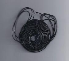10 mètres 1.5MM ciré cuir fil cire coton cordon chaîne bracelet collier corde