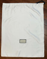 "New Authentic Gucci White DUST BAG 18"" X 23.5"""