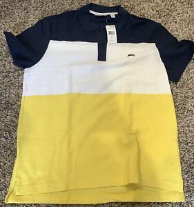 NWT Men's Lacoste Short-Sleeve Polo Shirt- Size Large